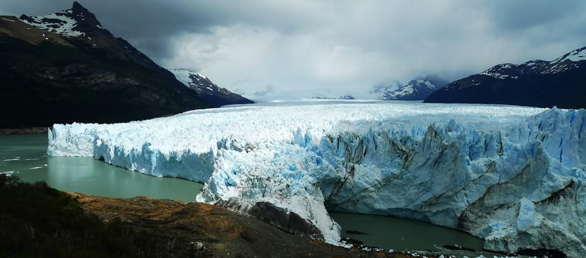 Ice Arch at Perito Moreno Glacier