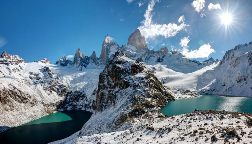Mount Fitz Roy in Patagonia, Argentina
