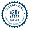 Celebrating 20 Years - Hosteria Helsingfors